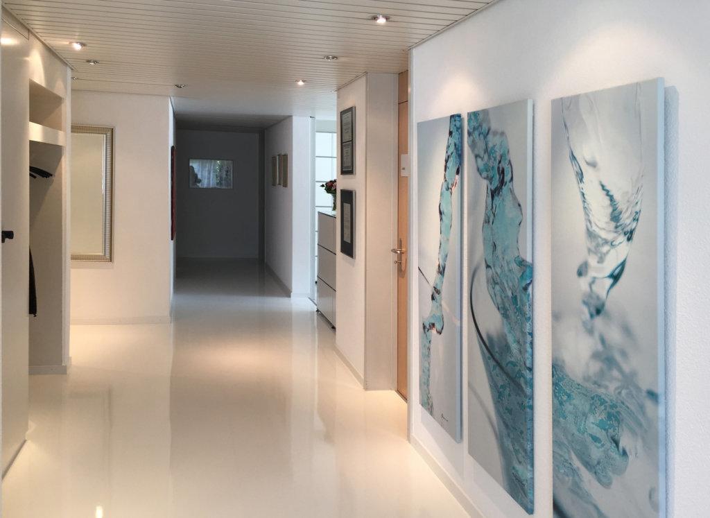 Eingangsbereich Praxis Swissklinik